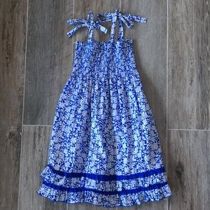 Two beautiful blue flowered dresses!